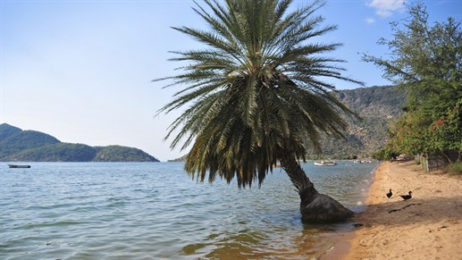 Upeat Cape Maclearin rannat, Lake Malawi