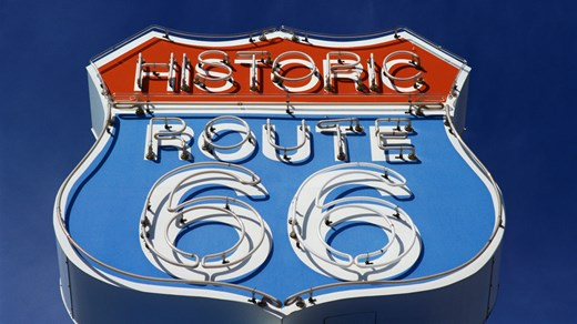 Road trip -reittiesittely: Route 66