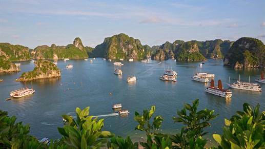 Purjehdus Vietnamissa - Halonginlahti