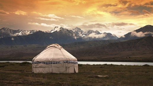 Mongolia Traditional Tent